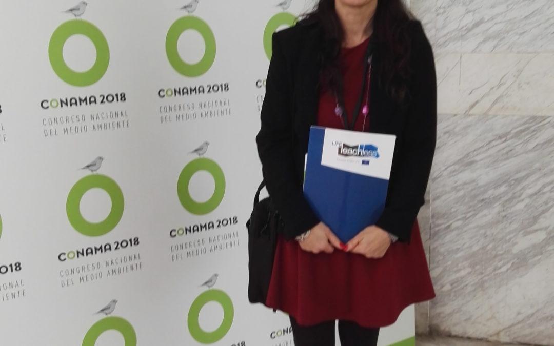 Το έργο LIFE LEACHLESS παρευρέθηκε στο συνέδριο CONAMA 2018