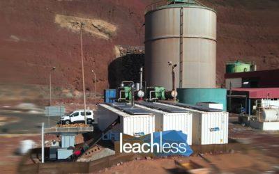 La planta de demostración del proyecto LIFE LEACHLESS comienza con la operación